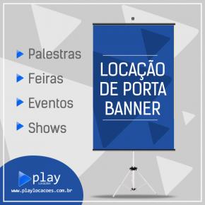 LOCAÇÃO DE PORTA BANNER / TRIPÉ BANNER  EM MONTES CLAROS