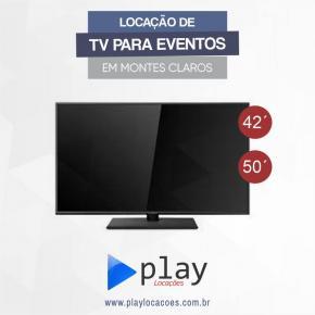 LOCAÇÃO DE TV LED / LCD COM SUPORTE MÓVEL  EM MONTES CLAROS